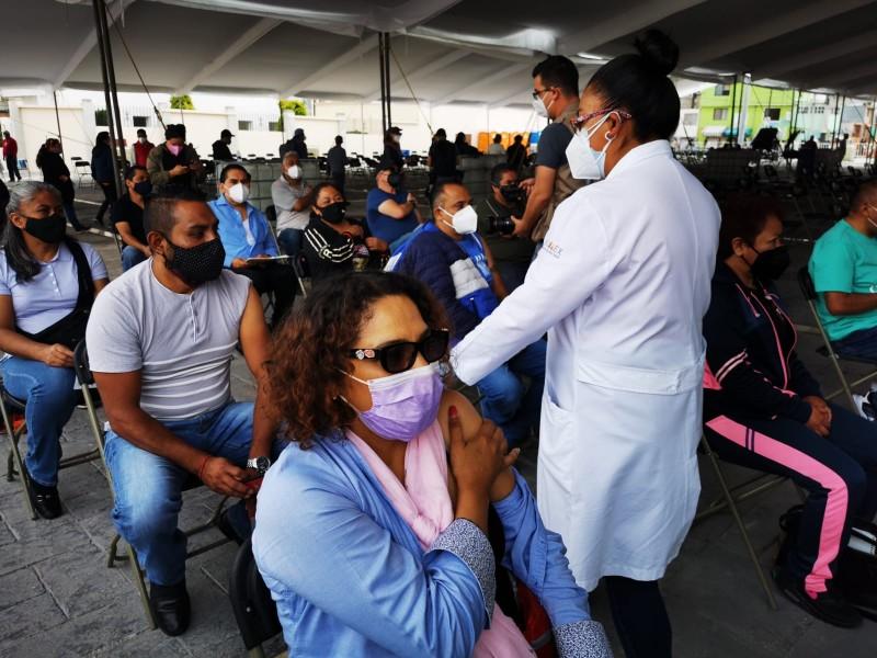2da. dosis, Vacunación de 30 a 39 años en Toluca.