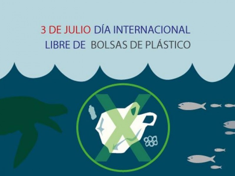 3 de julio, día internacional libre de bolsas plásticas