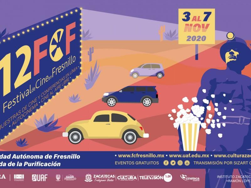 3 de noviembre iniciará Festival de Cine en Fresnillo