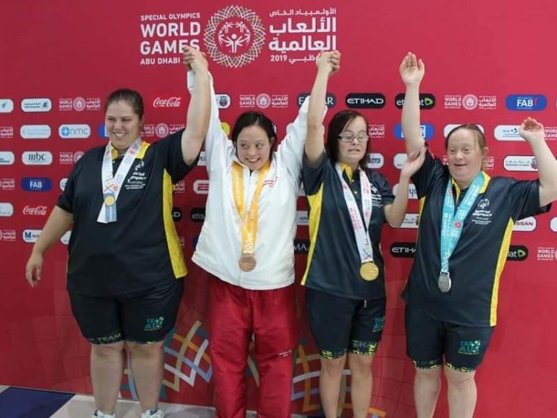 3 medallas para Adriana Iturraga
