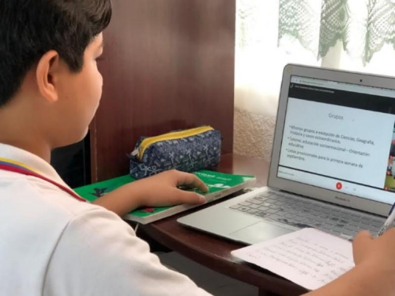 3 mil 600 niños sin conectarse a clases online