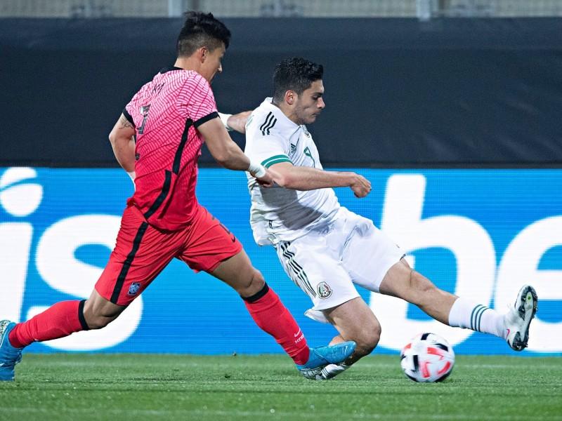 3 minutos bastó y México le gana a Corea