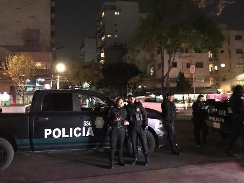 3 muertos por balacera en edificio de Polanco