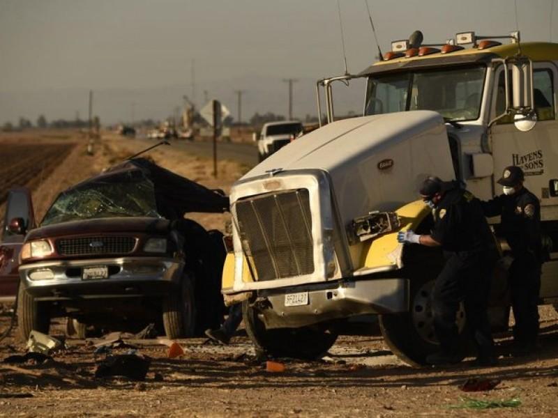 3 oaxaqueños fallecidos en accidente en California