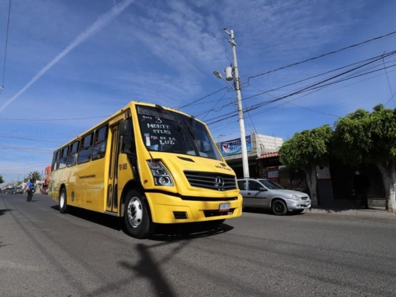 3 rutas más del programa de transporte gratuito Acercándote
