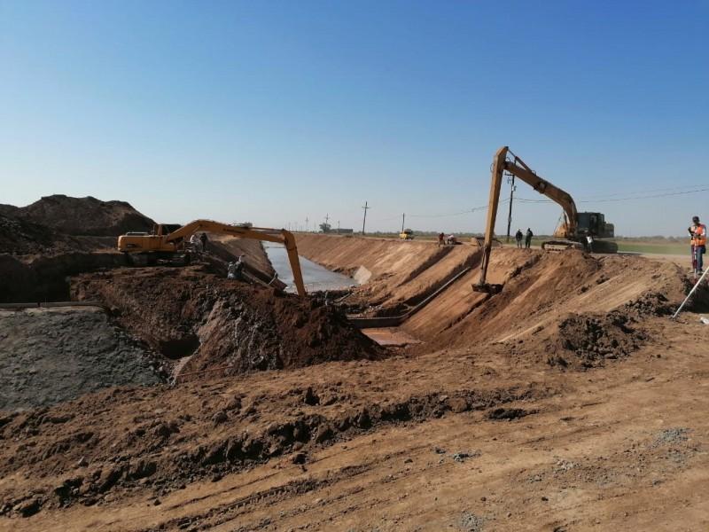 30 % avanza tercera fase desviación dren Juárez al Buenaventura