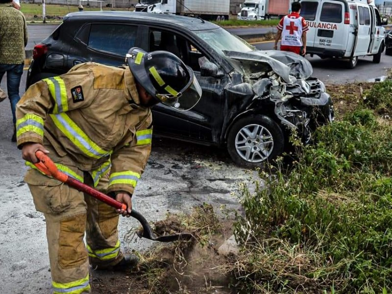 30% de muertes en accidentes automovilísitcos son causadas por volcaduras