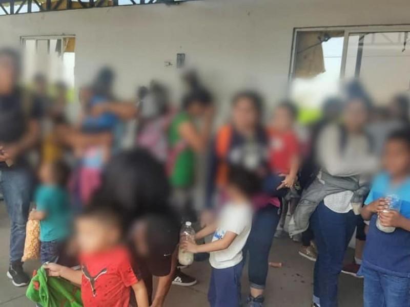 30 menores migrantes fueron rescatados en Agua Dulce