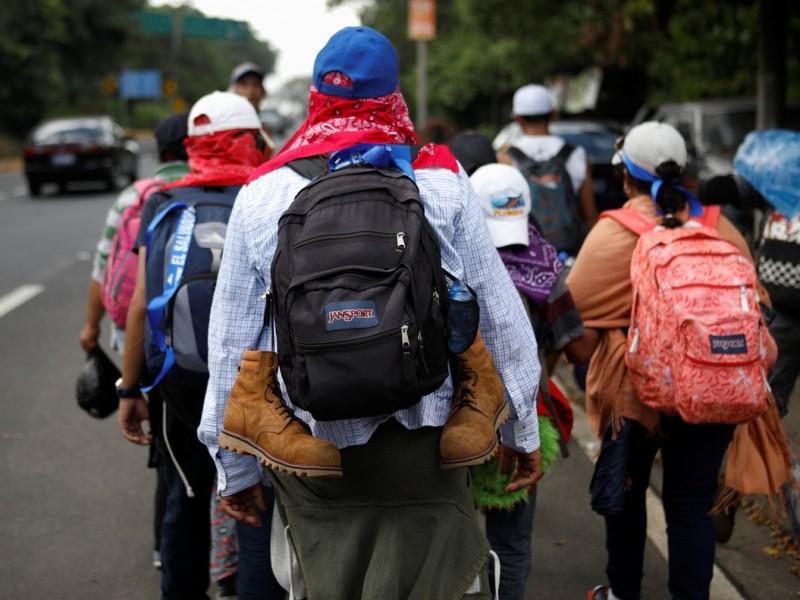 300 migrantes salvadoreños, buscan el sueño americano diariamente
