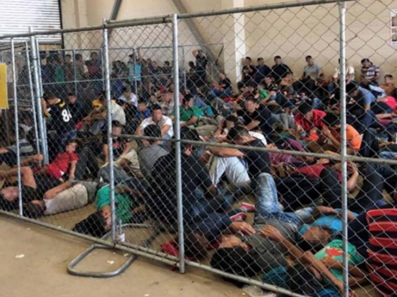 356 casos de Covid-19 en centro de detención de migrantes