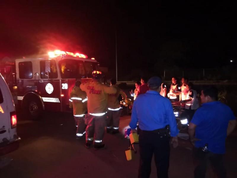 36 trabajadores lesionados tras accidente en Navojoa