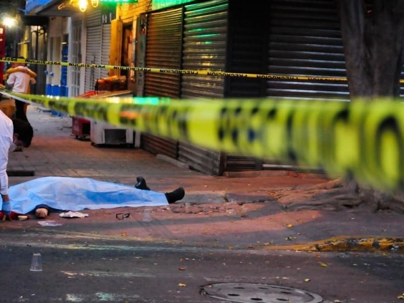 36,579 homicidios se registraron en México en 2020