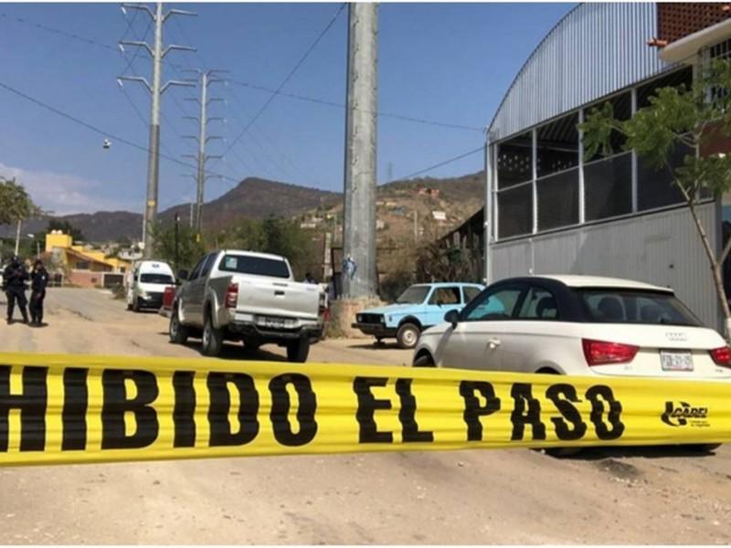 39 mil delitos se cometieron en Oaxaca durante 2020