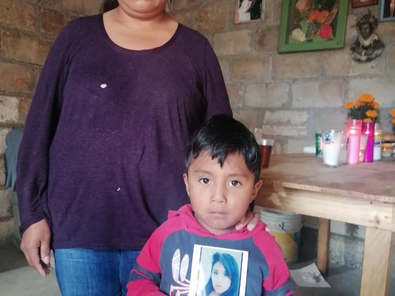 395 niños y niñas han quedado huérfanos por feminicidios