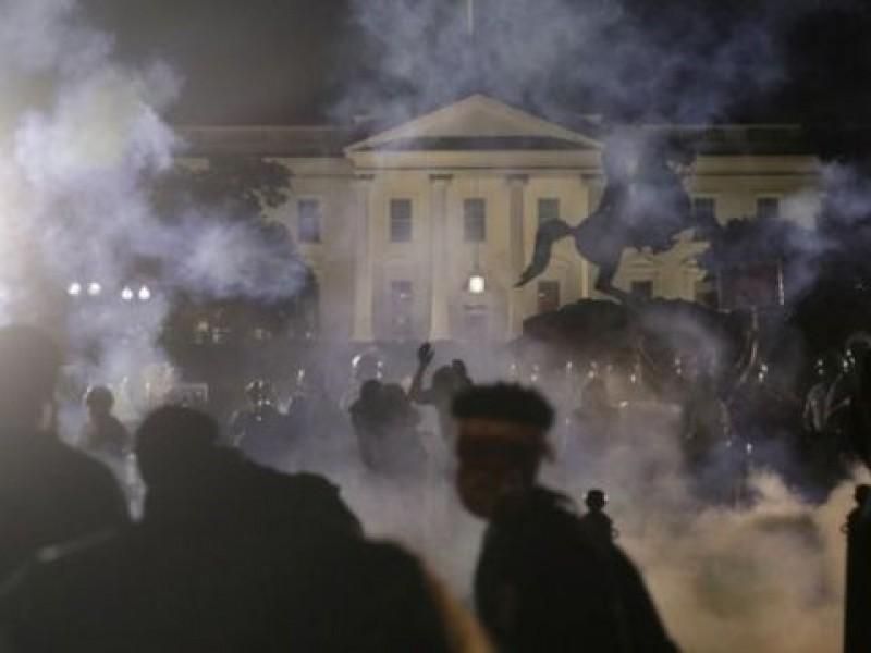 4 heridos tras ataque cerca de la Casa Blanca