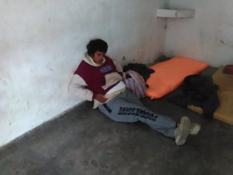 4 indigentes han sido trasladados a refugios temporales