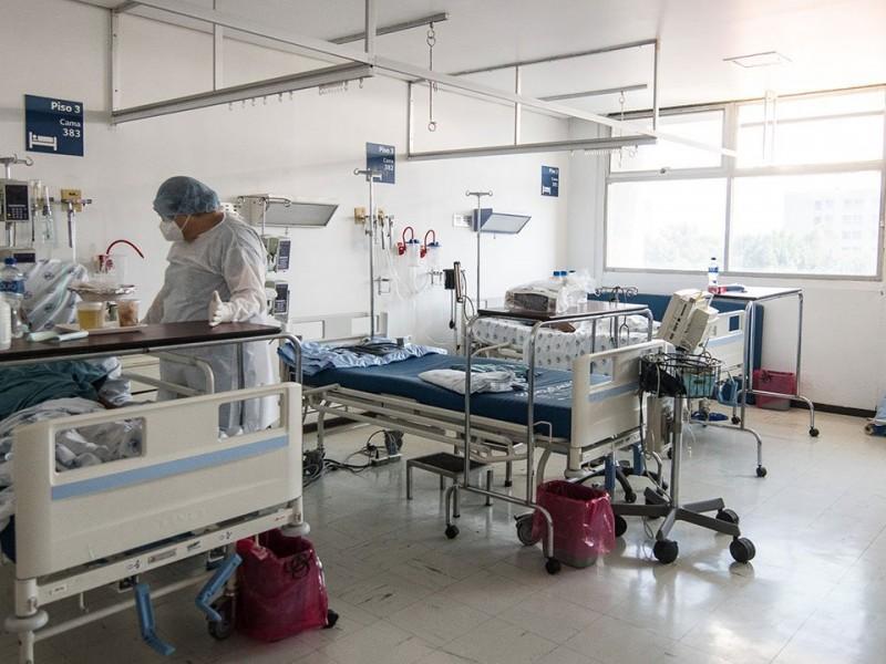 40% en ocupación de camas para pacientes Covid-19