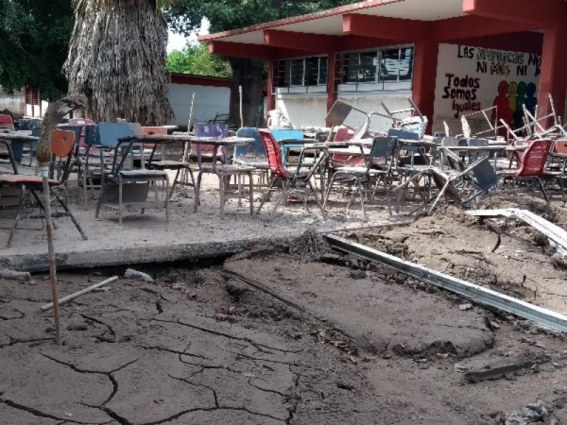 40 escuelas tendrán que ser reconstruidas