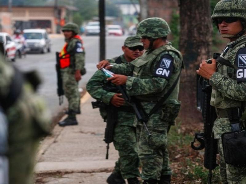 400 Elementos de Guardia Nacional para Guaymas-Empalme