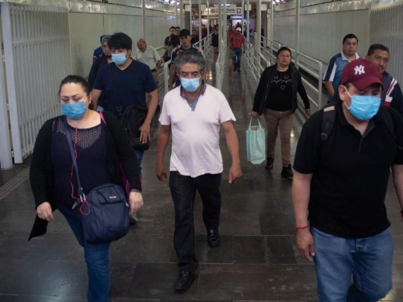 406 muertes por COVID19 en México y 5399 contagios