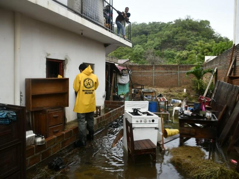 42 casas afectadas por