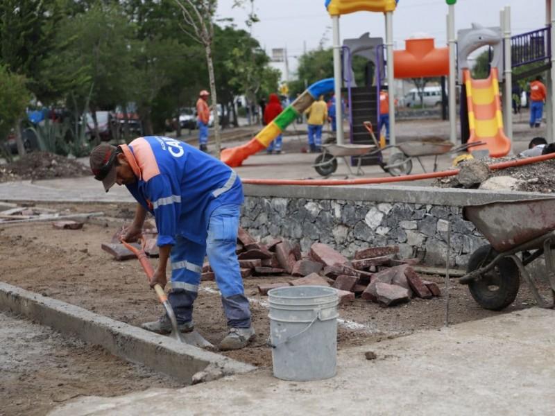 45% de avance en la rehabilitación de Parque Ignacio Pérez