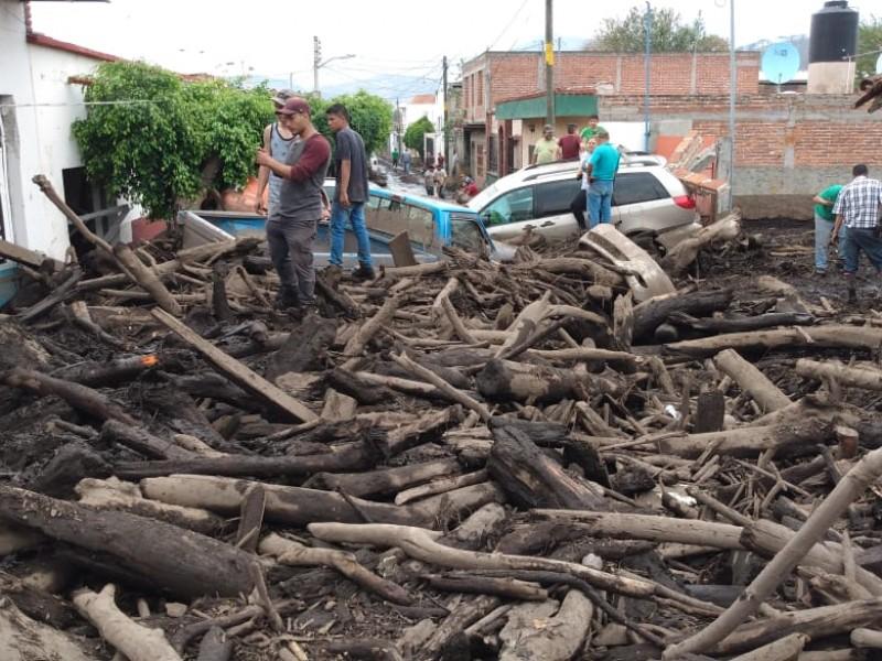 45 viviendas con pérdida total en San Gabriel