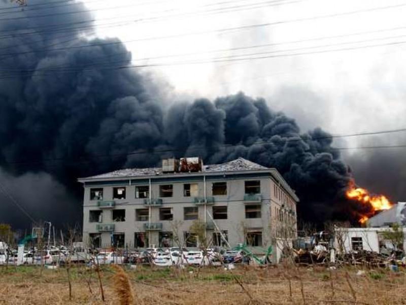 47 muertos por explosión en planta china