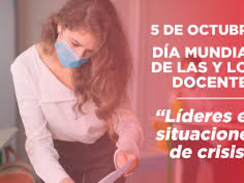 5 de octubre, día mundial del docente declara por UNESCO