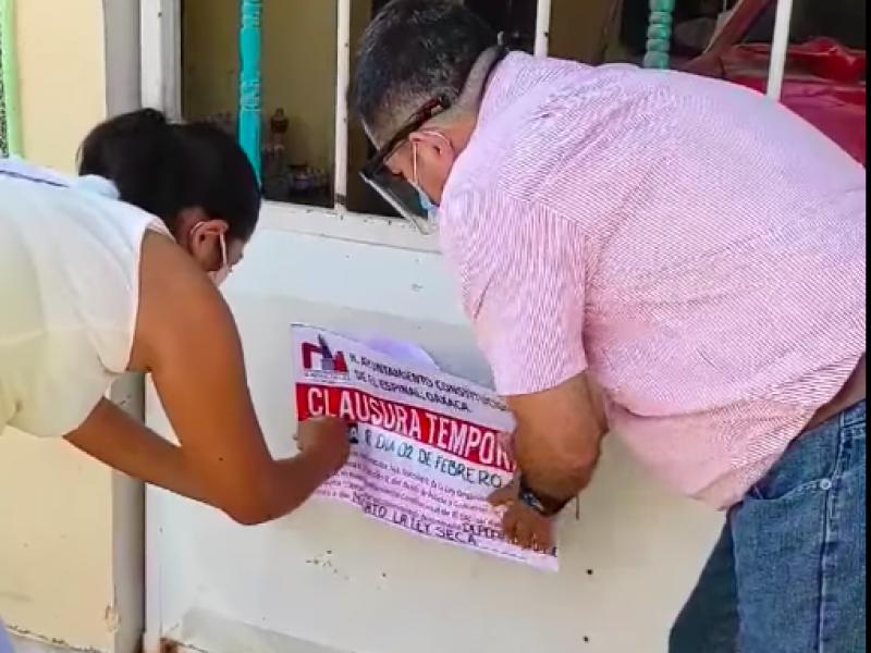 5 detenidos por no usar tapaboca en Espinal, Oaxaca