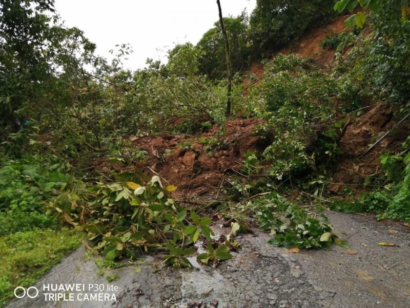 5 mil familias afectadas por las lluvias en Mixtla