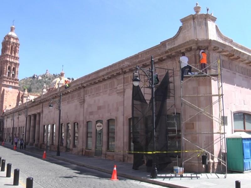 5 millones inversión para restauración del Mercado González Ortega