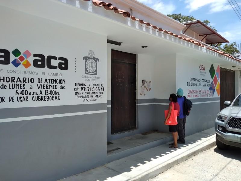 50% de la población registra morosidad en Tehuantepec: CEA