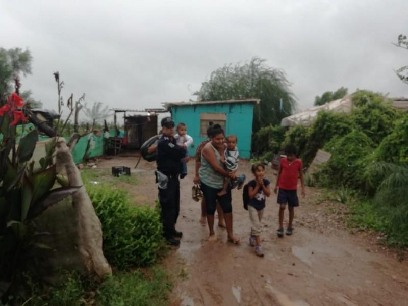 50 personas en albergues de Cajeme