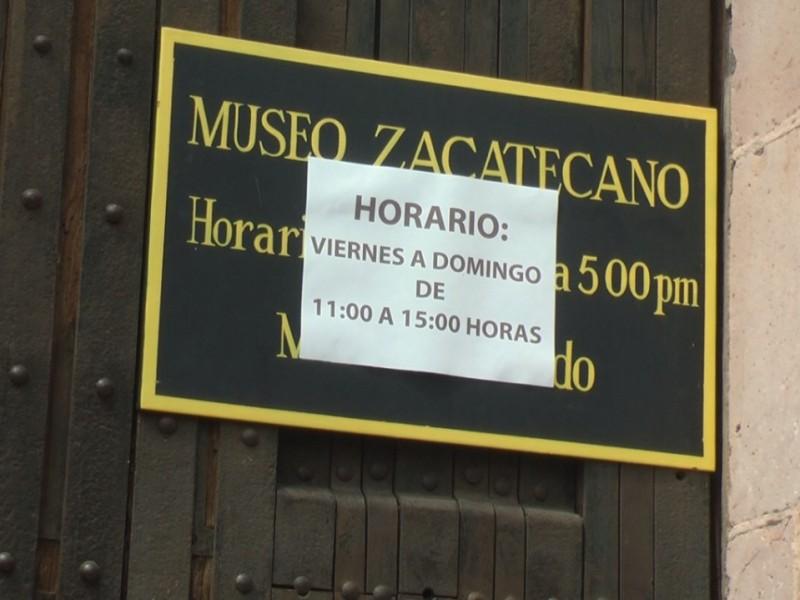504 Personas visitaron museos zacatecanos durante fin de semana