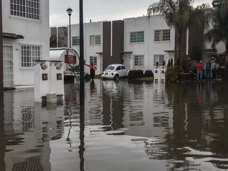 52 casas afectadas en la capital tras fuertes lluvias
