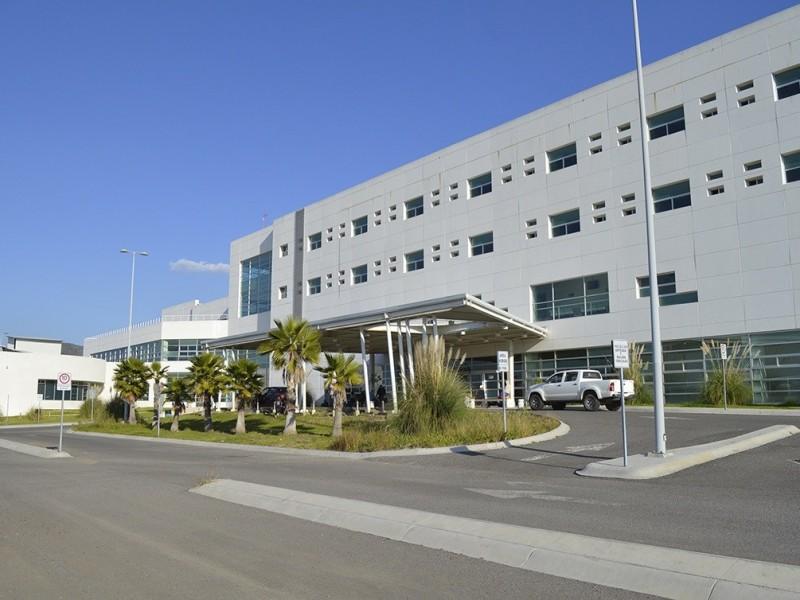 5.2% ocupación de camas en Hospital General de SJR