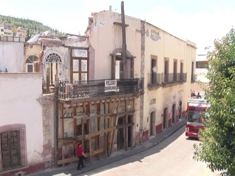 52 viviendas de Zacatecas están en alto riesgo de colapso