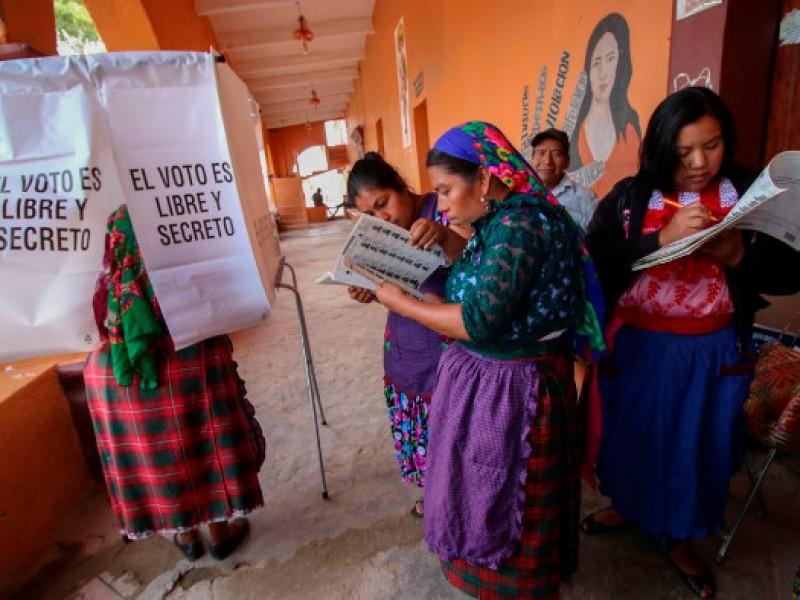 53% de candidaturas a concejalías en Oaxaca son personas indígenas:IEEPCO