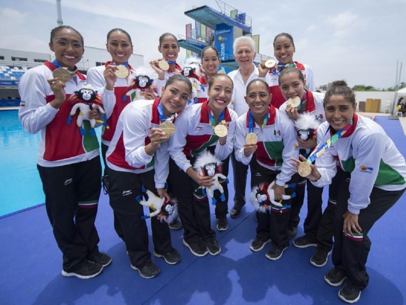 54 medallas para Edomex en Barranquilla