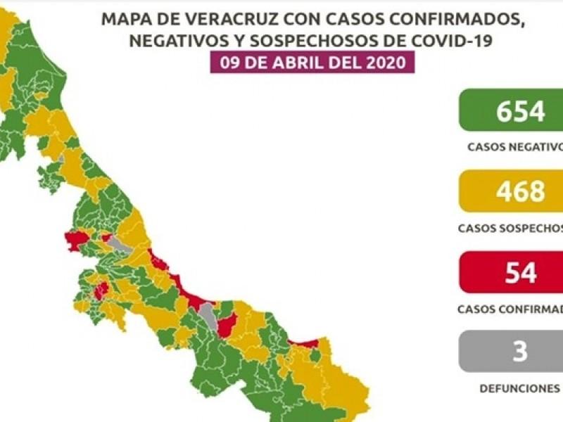 56% de casos COVID-19 en Veracruz es por contagio comunitario