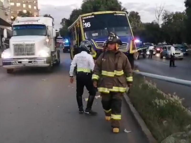 6 heridos tras accidente en boulevard