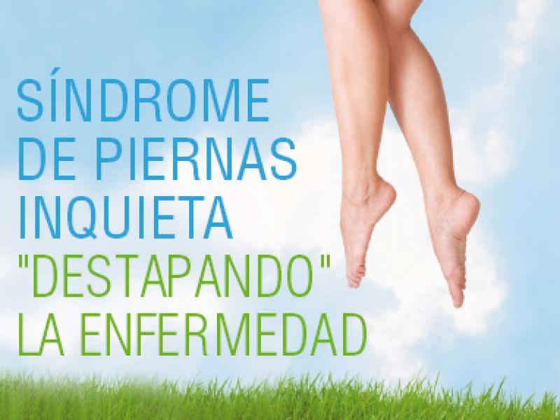 60% de mujeres sufre de piernas inquietas