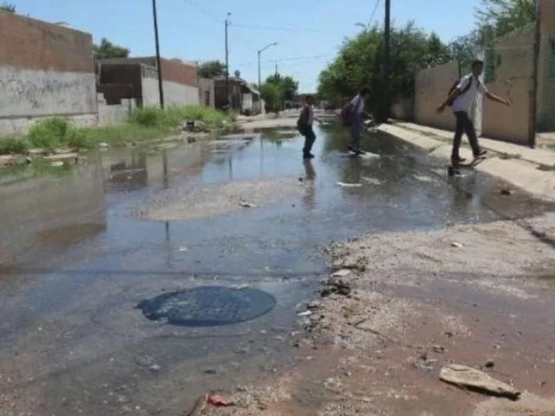 60% del drenaje en Navojoa està colapsado