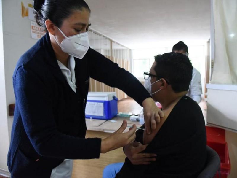 61% de avance en Plan de Vacunación en Veracruz