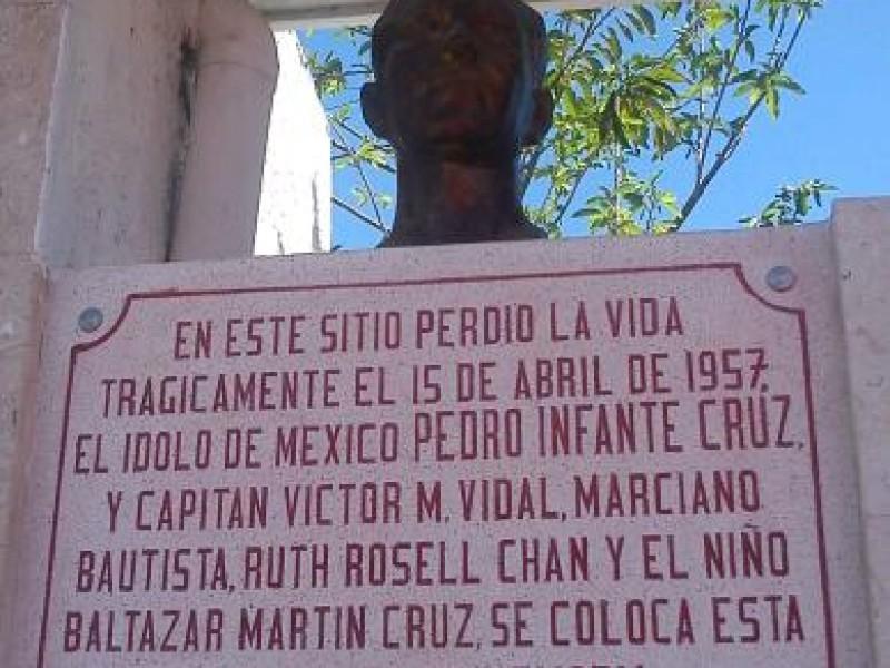 64 aniversario del fallecimiento del ídolo de México, Pedro Infante