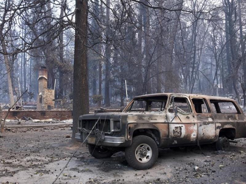 66 muertos tras incendios en California