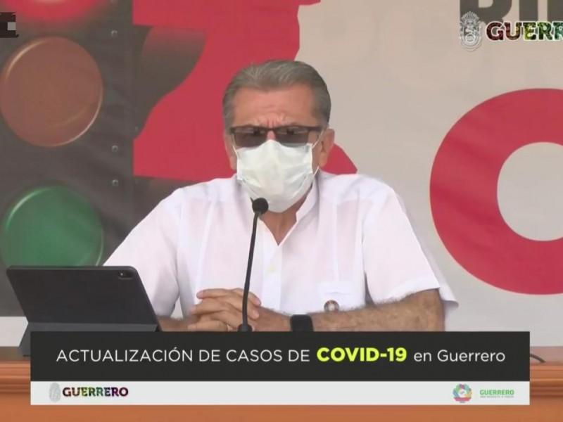 66 nuevos casos de coronavirus en Guerrero, suman 1,894