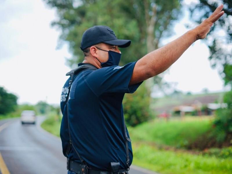 Siete casos de COVID-19 entre policías y protección civil estatal