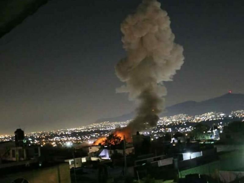 7 muertos por explosión de pirotecnia en Tultepec